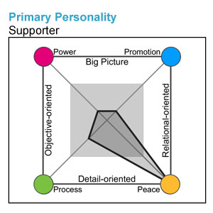 Primary Personality Portrait Sample